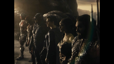 The Justice League, though a Lantern short.