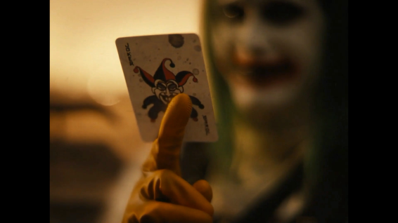 The Joker (Jared Leto) was redeemed in part.