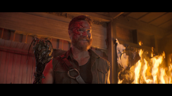Kano (Josh Lawson), easily the best character in the film.