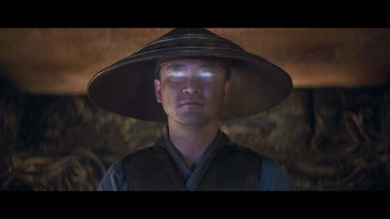 Raiden (Tadanobu Asano), portrayed as an Asian deity for the first time in live action.