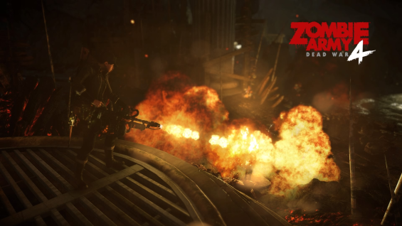 Fun fact: you really shouldn't ever set zombies on fire, because then you just have to deal with burning zombies.