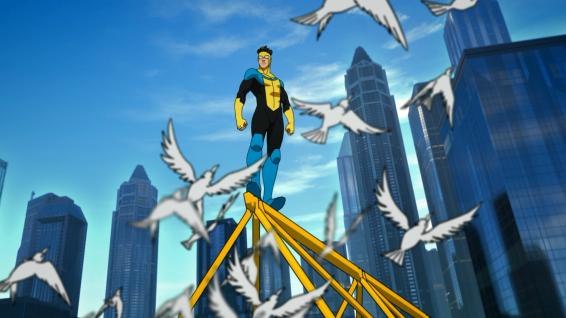 Mark Grayson / Invincible (Steven Yuen)