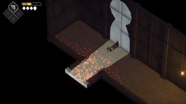 The theme of doorways and keyholes runs deep in Death's Door.