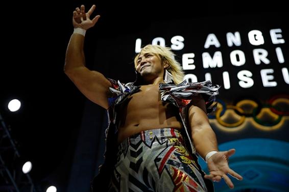 The challenger, Hiroshi Tanahashi (credit: njpw1972.com)