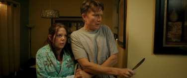 Deborah (Julie Dolan), defended by Sam (Steve Marvel)